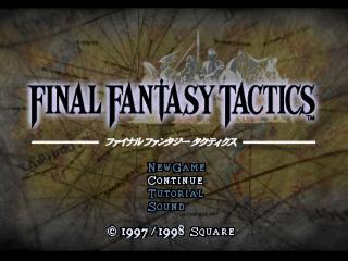 Screenshot Thumbnail / Media File 1 for Final Fantasy Tactics [NTSC-U]